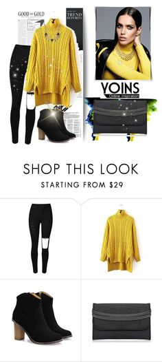 """""""Yoins 9"""" by fashion-addict35 ❤ liked on Polyvore featuring women's clothing, women, female, woman, misses, juniors and yoins"""