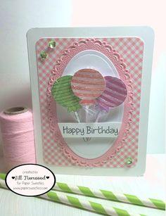 Greenwood Girl Cards: Happy birthday | Paper Sweeties August Release Rewind + RRR123