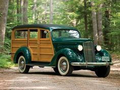 1937 Packard Woodie -