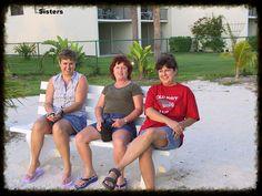 https://flic.kr/p/9bvyBk   Marathon Florida Keys 2002   sisters having fun