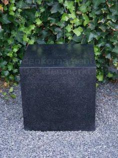 Terrazzo Sokkel Glad, zuil, 40 cm.