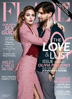 Olivia Palermo Gets Adoring Look From Husband Johannes Huebl on Flare's February 2015 Cover Fashion Magazine Cover, Fashion Cover, Star Fashion, Fashion Photo, Magazine Covers, Magazine Stand, Look Olivia Palermo, Estilo Olivia Palermo, Olivia Palermo Lookbook