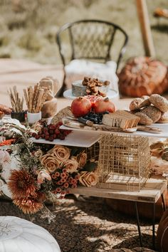 Grazing table for outdoor wedding. Layered grazing table with charcuterie and cheeses. Fresh fruit and breads. Unique grazing experiences by Grape & Fig. Photography by Nataly J. Wedding Buffet Food, Wedding Catering, Wedding Table, Wedding Sets, Boho Wedding, Birthday Sleepover Ideas, Cheese Table, Appetizers Table, Aztec Decor