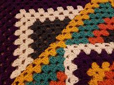 Kaleidoscope Granny Square Blanket Crochet Along (pt. Granny Square Pattern Free, Granny Square Häkelanleitung, Granny Square Crochet Pattern, Crochet Blocks, Crochet Squares, Crochet Blanket Patterns, Crochet Granny, Crochet Stitches, Free Crochet