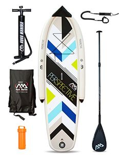 PERSPECTIVE Entry Beginners (9ft 9in / 300cm) Inflatable Stand Up Paddle Board…