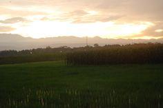 Sunset In Kendal Jawa Tengah Indonesia