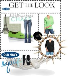 """Old navy tee Hoodie #10"" by kitty-wasch on Polyvore"