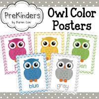 This set of Color Owl Posters will brighten up your classroom. Each poster has a colored owl with matching chevron border. Perfect if you use an owl theme, but adorable even if you don't. Owl Preschool, Preschool Colors, Preschool Classroom, Classroom Activities, Kindergarten, Owl Classroom Decor, Classroom Themes, Classroom Furniture, Classroom Supplies