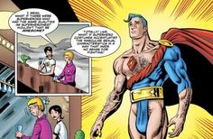 what if male superheroes had the same degrading costumes as women?