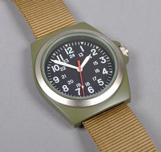 army watch - I appreciate the simplicity of the design.