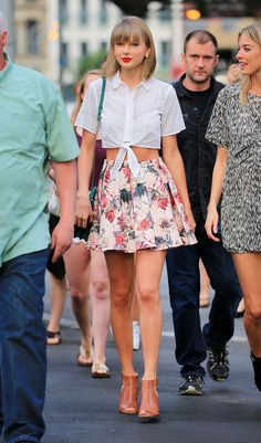 taylor swift daytime look