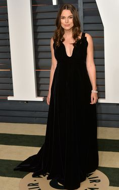 Keira Knightley's Modern Take on Red-Carpet Dressing, Maternity Style