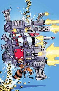 Rocket Raccoon #1, la review | COMICSBLOG.fr