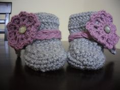 Cute Infant Pair of Lil'Booties. $25 Stelor Hats & Accessories on Facebook!