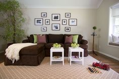 View Post - Looking for Chocolate Brown Sectional Sofa...