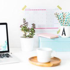 Domowe biuro, organizacja czasu, planner