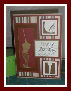 Cricut Birthday Cards | Sandi's Added Touch: Masculine Birthday Card / Cricut Sport Mania