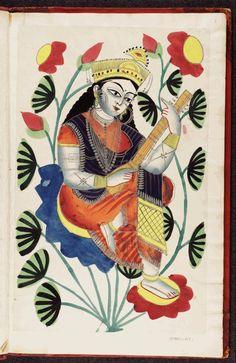 Saraswati is the Hindu goddess of knowledge, music, arts, wisdom and learning.