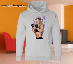 ronda rousey available for Hoodie by newannsajaket on Etsy