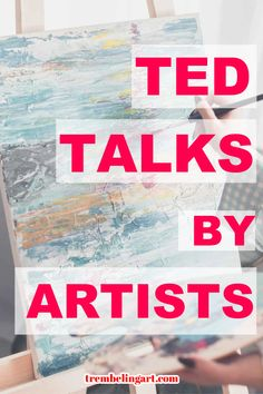 Many artists like to listen to books,pod casts or music as they work. Listening to Ted Talks Ap Studio Art, Sell My Art, Art Articles, Acrylic Painting For Beginners, Virtual Art, Light Of Life, Artist Life, Business Motivation, Ted Talks