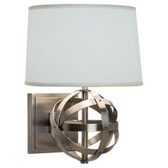 Robert Abbey Lucy Wall Sconce - Dark Antique Nickel