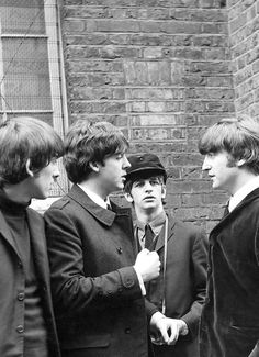 The phrase 'hard days night' was thought up by Ringo after the group escaped a group of fans.