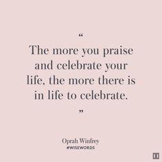 #WiseWords from Oprah Winfrey