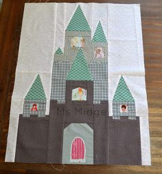 Fairytale Castle by Ms Midge, via Flickr Pattern by Blossom Heart Quilts