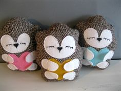 Sleepy Hedgehog Plush Toy -  $32.00, via Etsy.  So cute, and they have plush otter's too =)