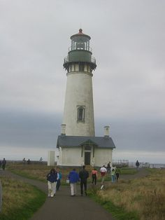 Lighthouse, Oregon coast