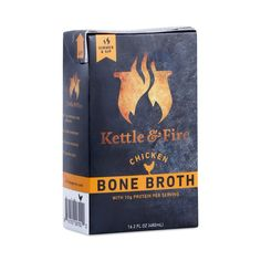 Shop Kettle & Fire Chicken Bone Broth at wholesale price only at ThriveMarket.com
