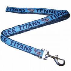 Officially licensed Tennessee Titans NFL Dog Leash ... for when my honey gets a dog too :)
