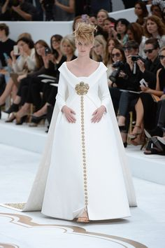 How very Chanel. Couture Wedding Gown Inspiration - Marie Claire