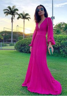 Silvia Braz, Look Rose, Casual Chique, Groom, Summer Outfits, Formal Dresses, Celebrities, My Style, Womens Fashion