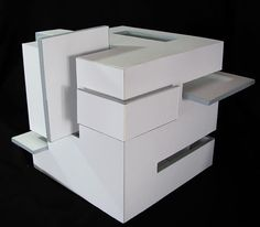 Cube architecture model google search art 3d for Meuble danois montreal