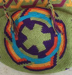 SALE OOAK Mochila Backpack Wayuu technique by creaconlemani