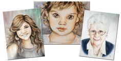 Ritratti personalizzati fatti a mano
