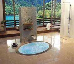 Baas-boven-baas-badkuipen van Käsch