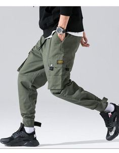 YUNY Mens Hi-Waist Baggy Straight Oversize Jogger Pant Trousers 6 2XL