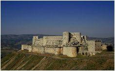 Krak des Chevaliers Castle-Fortress