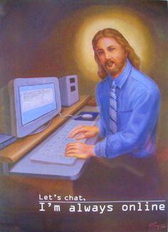 Jezus; sociale media