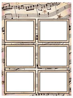 Free Printable Music Name Tags The Template Can Also Be Used For