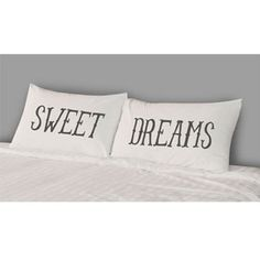 THE RISE AND FALL Sweet Dreams Pillowcase Set