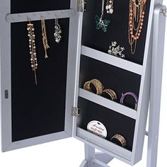 25 Beautiful Full Length Jewelry Armoires Armoires and Mirror