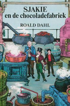 1961-1980   Koninklijke Bibliotheek Sjakie en de chocoladefabriek, Roald Dahl