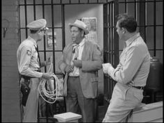 Deputy Barney Fife, Otis Campbell and Sheriff Andy Taylor