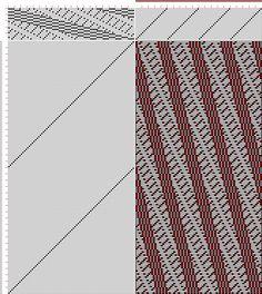 draft image: 20 sur 80, Planche A, No. 2, P. Falcot: Traité Encyclopedique et Méthodique de la Fabrication Des Tissus, 20S, 80T