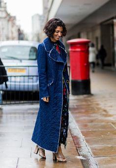 Pin for Later: Das ist schon jetzt der wohl beliebteste Schuh der Saison London Fashion Week Yasmin Sewell