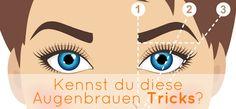 Augenbrauen zupfen oder wachsen? Wie kannst du deine Augenbrauen verdichten? Wie kosst du zum perfekten Brauenschwung? Welche Augenbrauen-Länge? und vieles mehr => https://www.bodyzone.ch/2017/04/14/kennst-du-diese-tricks-f%C3%BCr-perfekte-augenbrauen/  #Augenbrauen #Zupfen #Wachsen #AugenbrauenMänner