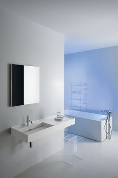 900mm wall hung sink by Laufen